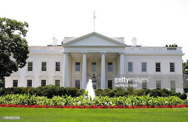 The White House in Washington DC on MAY 13 2012