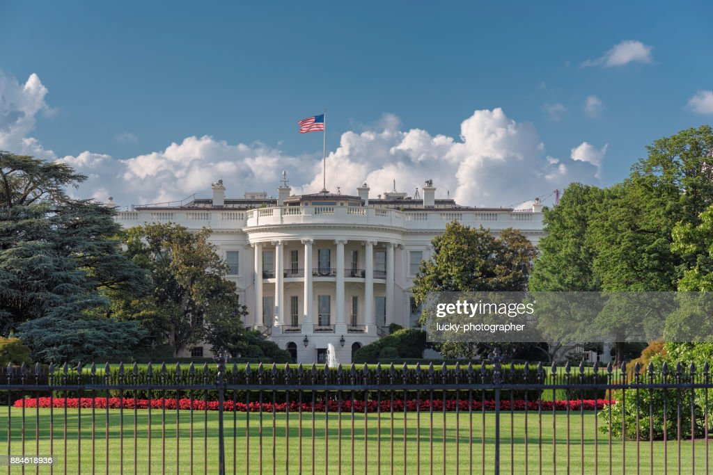 The White House in Washington DC : Stock Photo