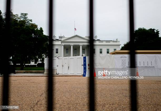 The White House is seen on October 6 2019 in Washington DC A second whistleblower has come forward this one with firsthand information of the events...