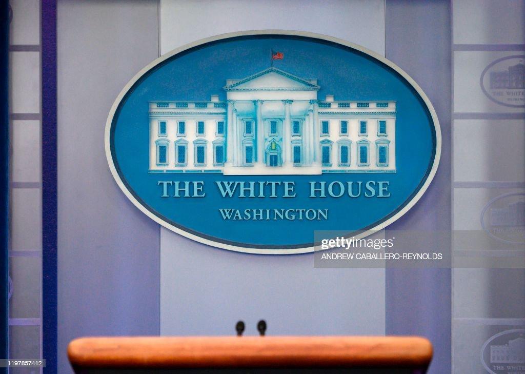 US-POLITICS-WHITE HOUSE : News Photo