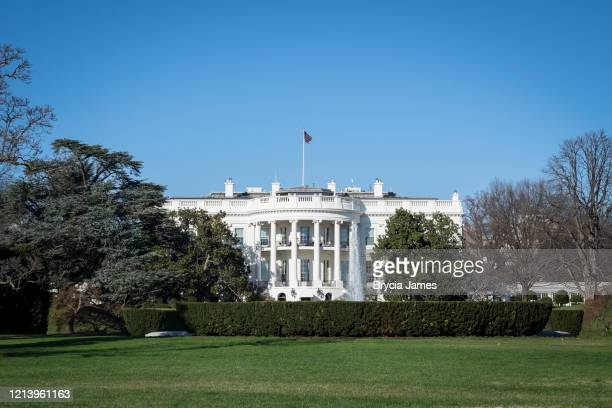 the white house - brycia james stock pictures, royalty-free photos & images