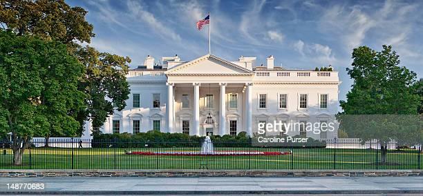 the white house - casa branca washington dc imagens e fotografias de stock