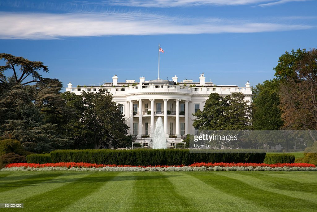 The White House : Stock Photo