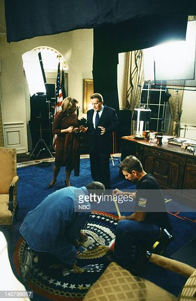 WING 'The White House ProAm' Episode 17 Air Date Pictured Stockard Channing as Abbey Bartlet Martin Sheen as President Josiah 'Jed' Bartlet Photo by...
