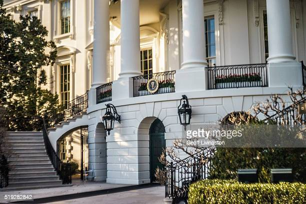 The White House South Portico