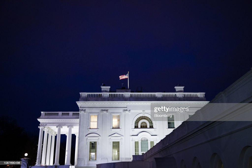 The West Wing As State Of The Union Address Battle Continues : News Photo