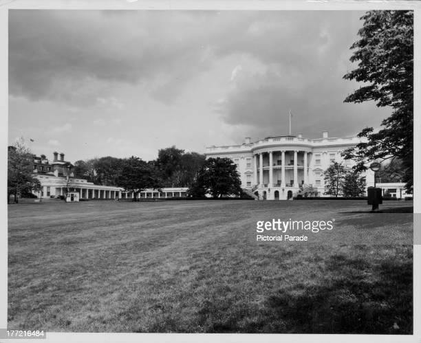The White House Washington D C circa 19551975