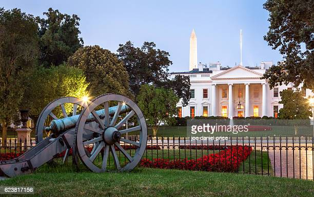 the white house, washington dc, america - casa branca washington dc - fotografias e filmes do acervo