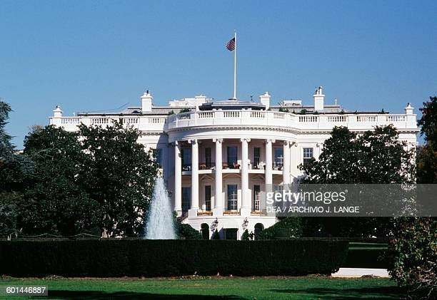 The White House Washington DC District of Columbia United States of America 19th century