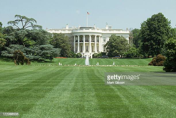 the white house, washington dc - white house stock pictures, royalty-free photos & images