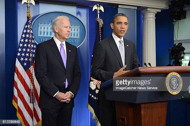 12/19/12 The White House Washington DC President will delivers a statement in the Brady Press Briefing Room about the policy process the...