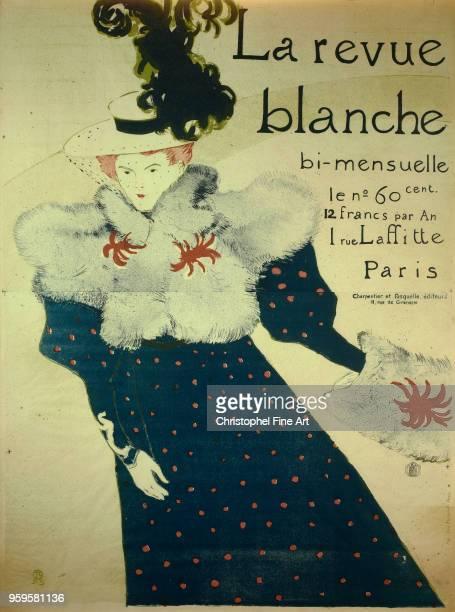 The white magazine 1895, Toulouse Lautrec Henri De , Private collection, France.