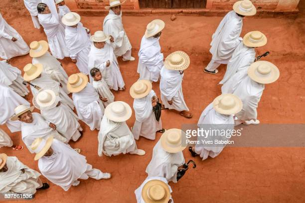 the white shepherds of soatanana - fundamentalism stock photos and pictures