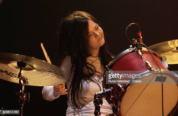 The White Stripes perform at Brixton Academy