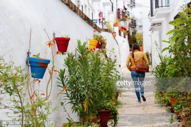 The white town of Frigiliana, Andalusia, Spain