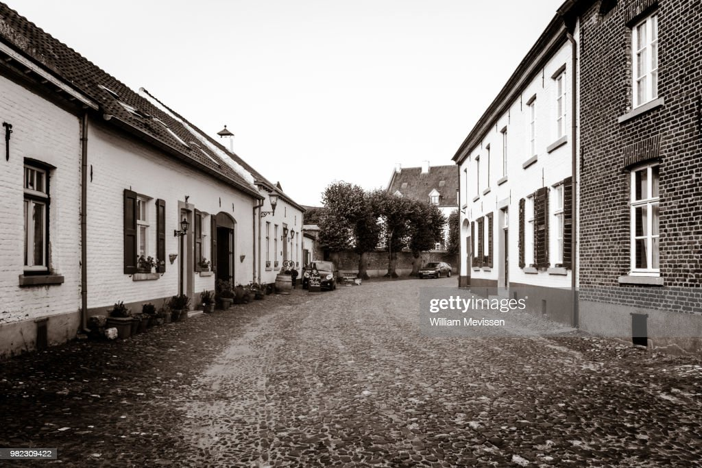 The White Village : Stockfoto