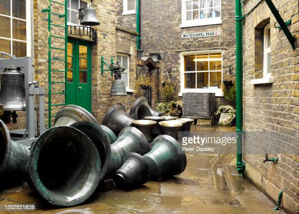 The Whitechapel Bell Foundry, courtyard, London Borough of Tower Hamlets on February 10,2011 in London,England.