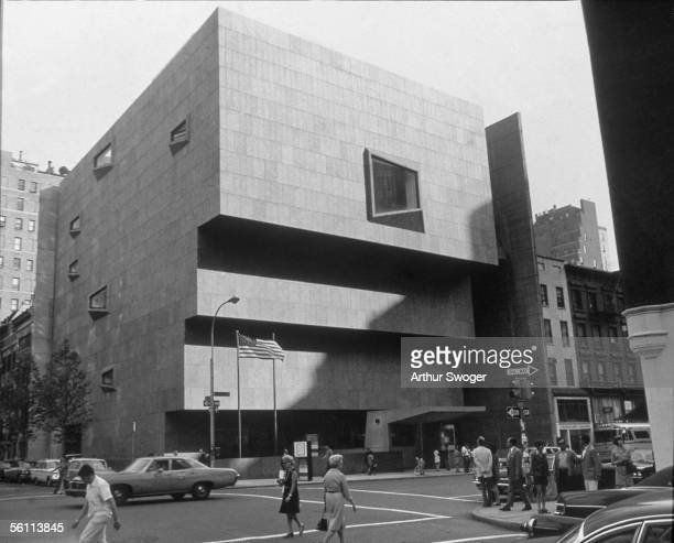 The Whitney Museum of American Art on Madison Avenue New York City which opened in 1966