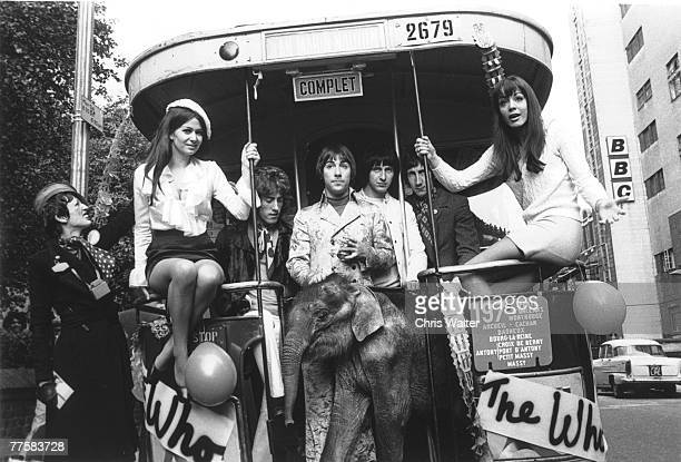 The WHO 1968 Roger Daltrey Keith Moon John Entwistle Pete Townshend Chris Walter