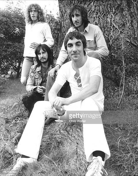 The Who 1971 Roger Daltrey John Entwistle Keith Moon Pete Townshend