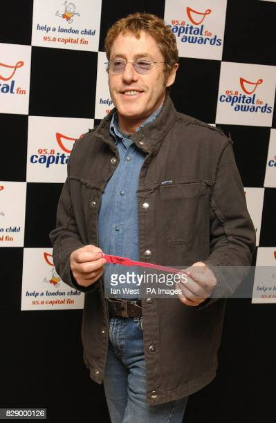 The Who frontman Roger Daltrey arrives for the Capital FM Awards 2004 for Help a London Child at the Royal Lancaster Hotel in west London. The awards...