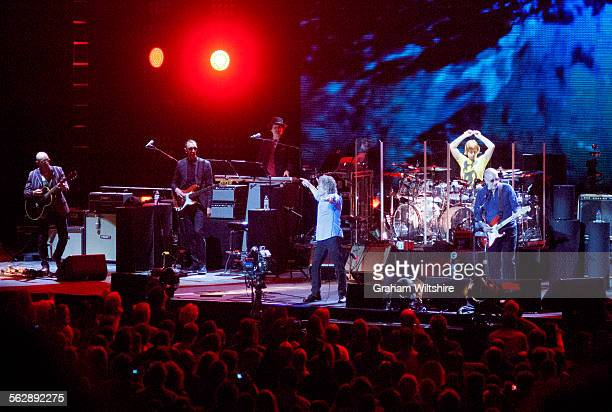 The Who in concert at the O2 Academy, during the culmination of their 50th anniversary tour, 22nd March 2015.