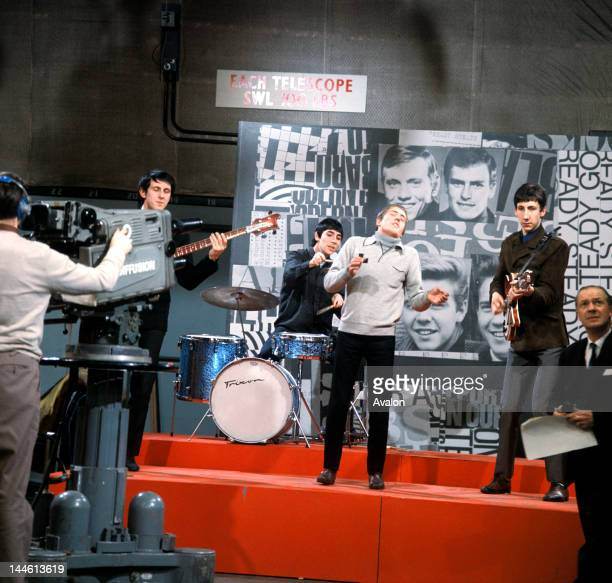 The Who on 'Ready Steady Go' TV show in January 1965