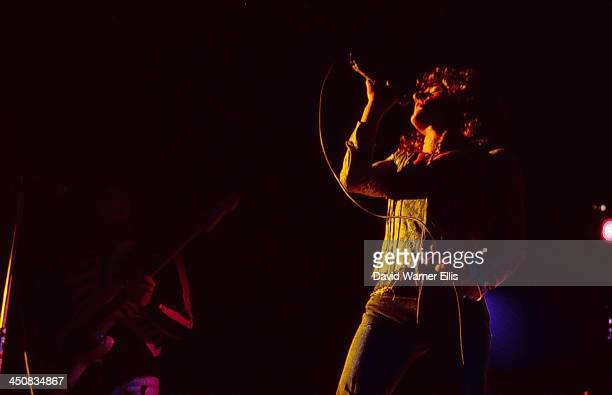 The Who on stage at the Isle of Wight Festival UK 1969