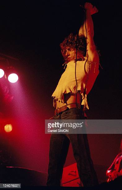 The Who perfoms in Paris France on February 10 1974 The Who performing 'Quadrophonia' rock opera