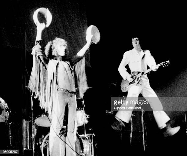 The Who perform live on stage at Concertgebouw in Amsterdam, Netherlands on September 29 1969 L-R Pete Townshend, Roger Daltrey