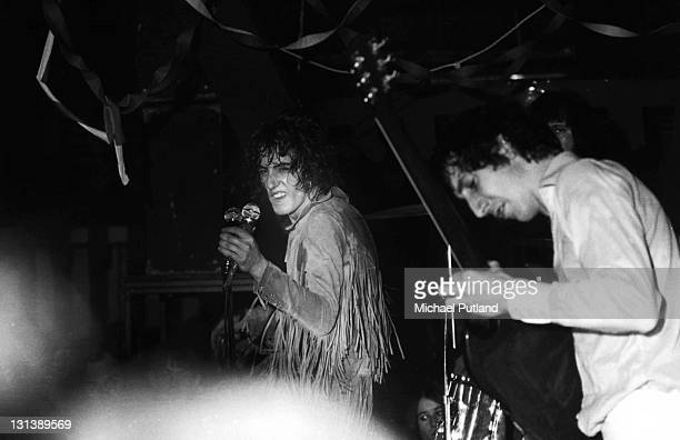 The Who perform on stage at the Marquee Club for the final time London 17th December 1968 Roger Daltrey Pete Townshend