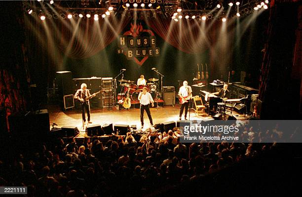 The Who performing at a benefit concert for Maryville Academy at the House of Blues in Chicago November 12 1999 From left to right are bassist John...
