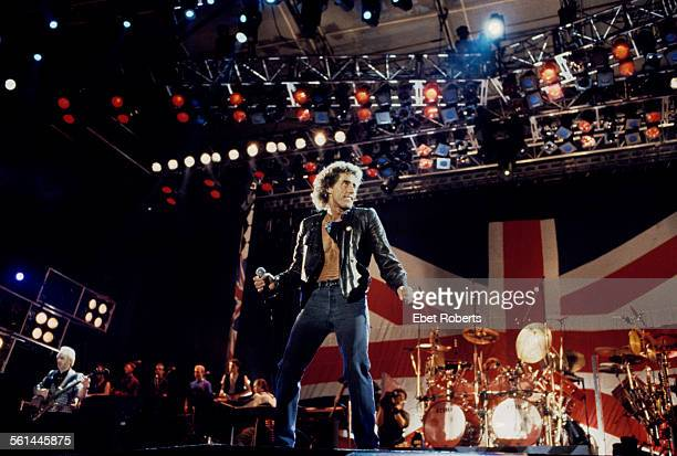 The Who performing in Buffalo New York on July 18 1989