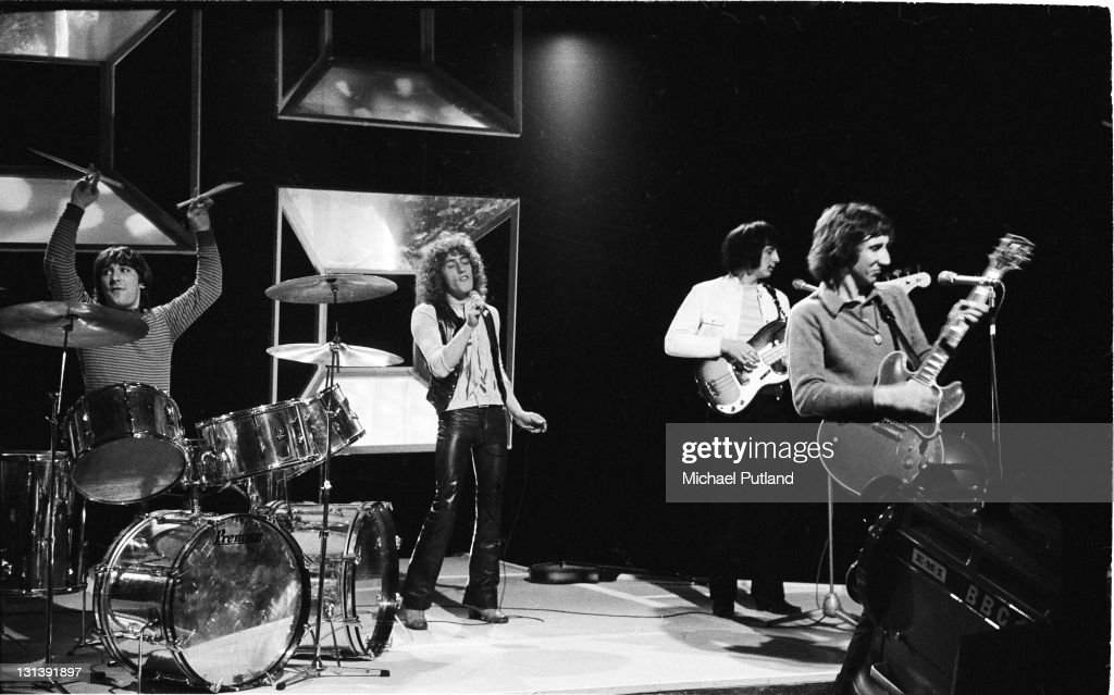 The Who : News Photo
