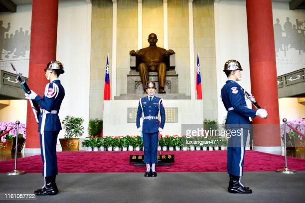 名誉ガードを変更するプロセス全体 - 近衛兵 ストックフォトと画像