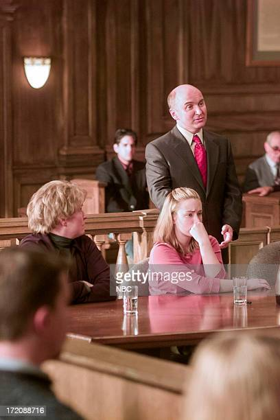 """The Whole Truth"""" -- Episode 17 -- Pictured: Alyson Reed as Lenore Decker, Ashley Johnson as Daphne Wallace, and Matt Malloy as Barrett Crouch --"""