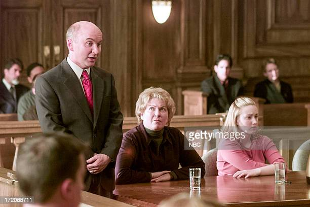 """The Whole Truth"""" -- Episode 17 -- Pictured: Matt Malloy as Barrett Crouch, Alyson Reed as Lenore Decker, and Ashley Johnson as Daphne Wallace --"""