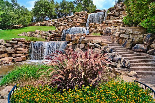 The Wichita Falls Waterfall