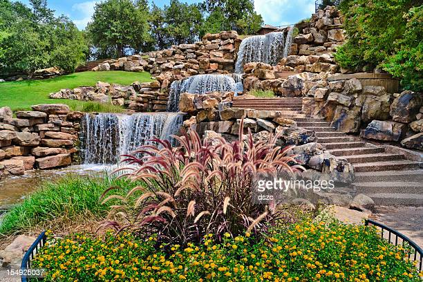The Wichita Falls Waterfall, landmark, Texas