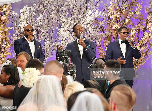 """The Wide World of Weddings continues with a group wedding featuring 16 couples live in Times Square and a live performance by Boys II Men on """"Good..."""