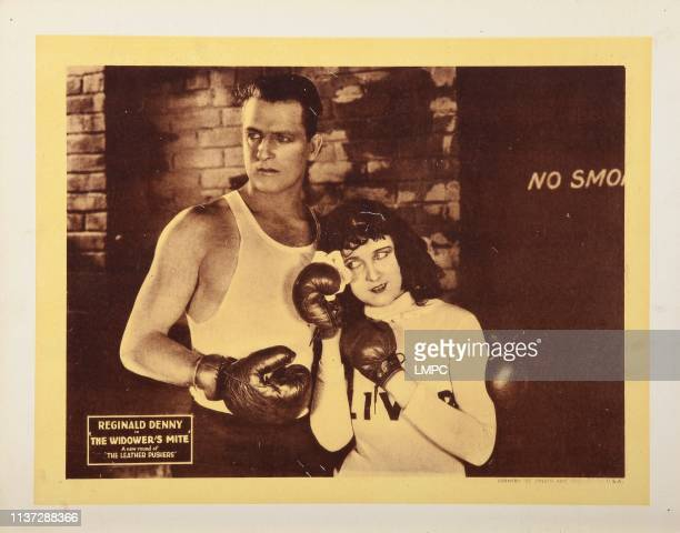 The Widower's Mite lobbycard Reginald Denny 1923