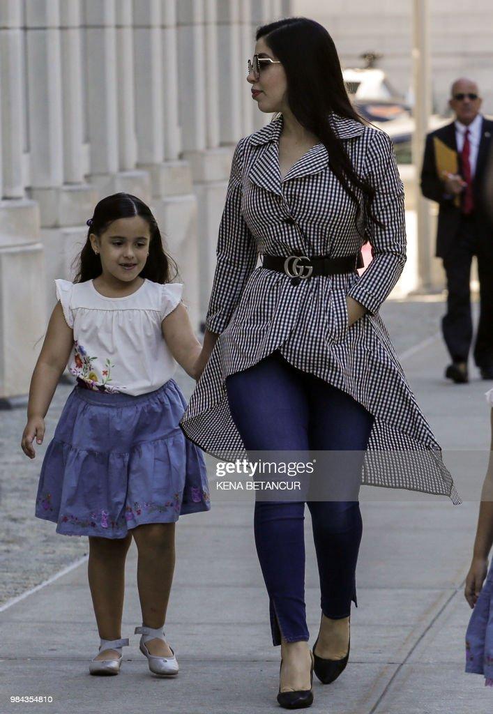 the wife of  u0026 39 el chapo u0026 39   emma coronel aispuro  arrives with
