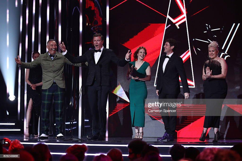 30th Annual ARIA Awards 2016 - Show
