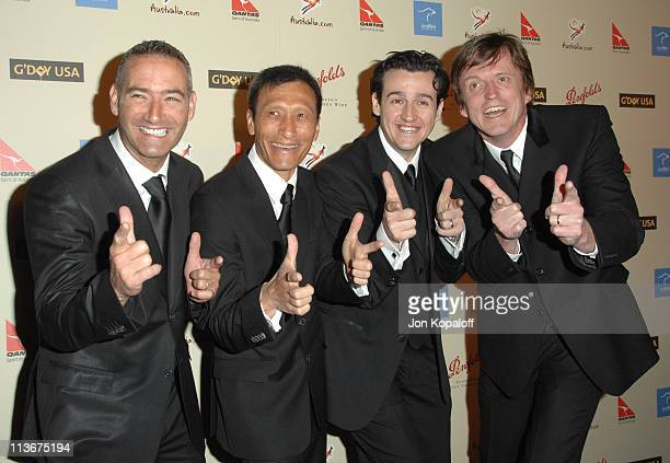 The Wiggles during 2007 Australia Week Gala Arrivals in Los Angeles California United States