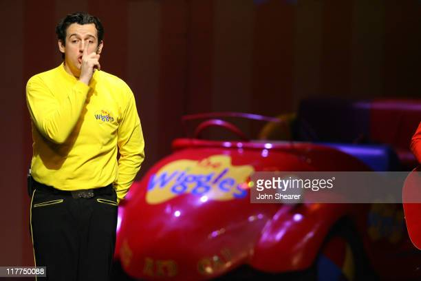The Wiggles during G'Day USA Aussie Family Concert at LA Music Center, Ahmanson Theater in Los Angeles, California, United States.