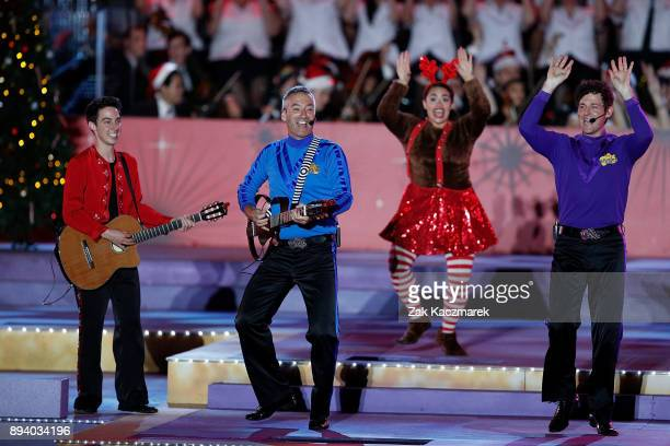 The Wiggles perform during Woolworths Carols in the Domain on December 17 2017 in Sydney Australia Woolworths Carols in the Domain is Australia's...
