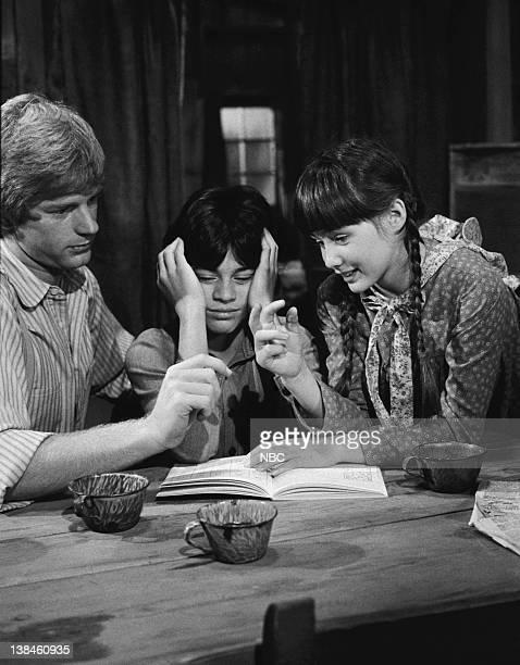 PRAIRIE The Wild Boy Part 1 Episode 6 Aired 11/1/82 Pictured Dean Butler as Almanzo James Wilder Jonathan Hall Kovacs as Matthew Shannen Doherty as...