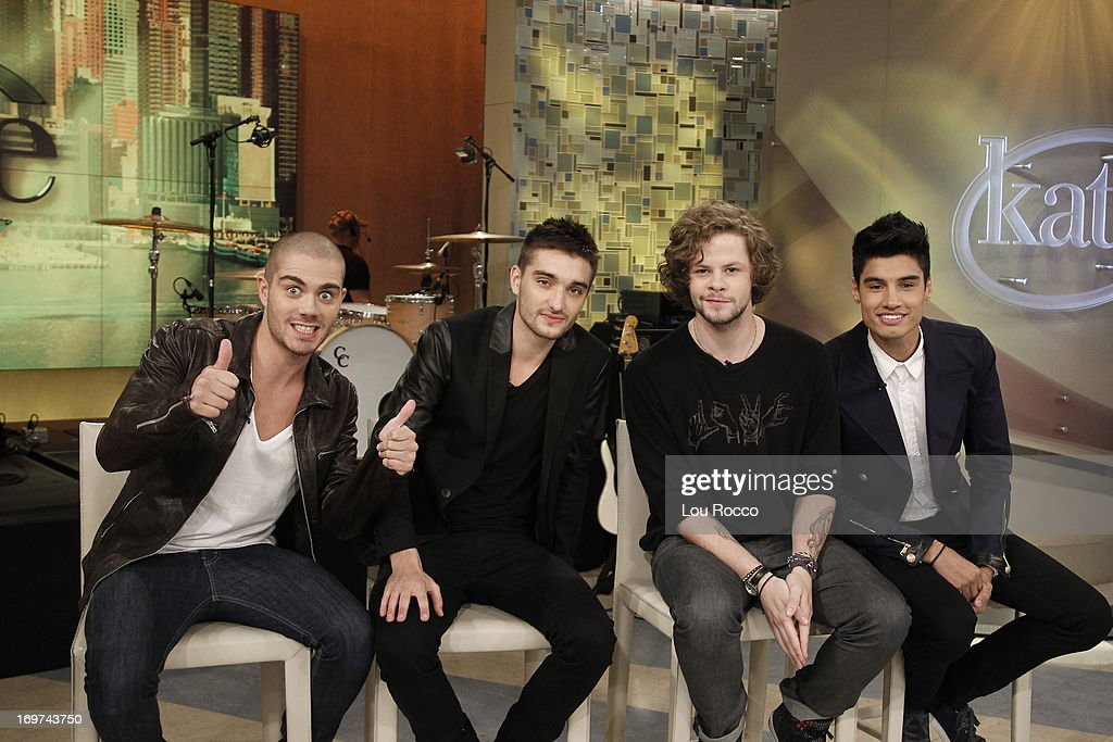 KATIE - 5/31/13 - The wild British boy band, The Wanted, visit KATIE, distributed by Disney-ABC Domestic Television. (Photo by Lou Rocco/Disney-ABC via Getty Images) THE