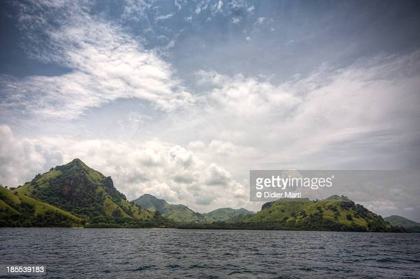 the wild coast of flores - didier marti stock photos and pictures