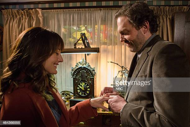 GRIMM 'The Wild Hunt' Episode 312 Pictured Bree Turner as Rosalee Calvert Silas Weir Mitchell as Monroe